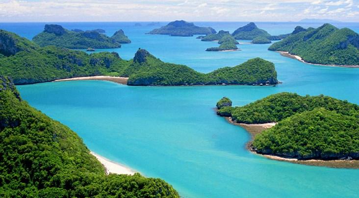 национальный парк Анг Тонг в провинции Краби, Тайланд